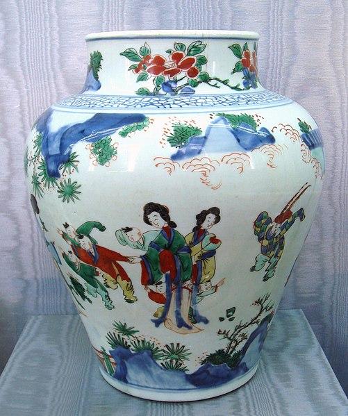 File:Wusai vase Shunzi period circa 1650 1660.jpg