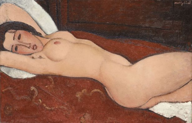 Amedeo Modigliani Reclining Nude The Metropolitan Museum of Art