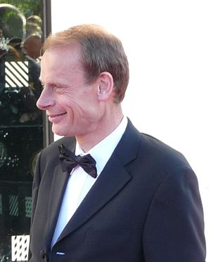 BBC Politics journalist Andrew Marr on the red...