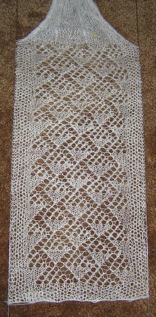 Lace knitting  Wikipedia