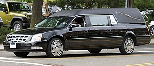 Cadillac DTS-based hearse