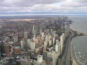 Chicago north from John Hancock 2004-11 img 2618