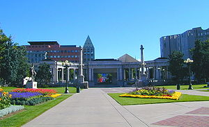 Picture of Denver's Civic Center, taken August...