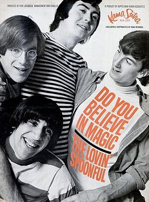 English: Trade ad for The Lovin' Spoonful sing...