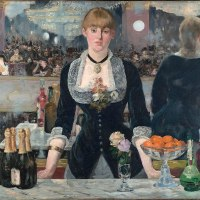 """A Bar at the Folies-Bergère"" by Édouard Manet"
