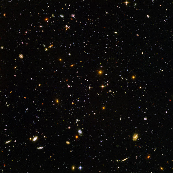 Hubble ultra deep field - Click to view full resolution 6,200 × 6,200 pixels