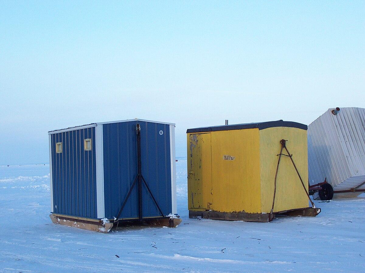 Homemade Ice Fishing Shelter
