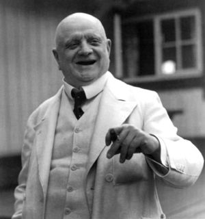 Photograph of Jean Sibelius, the Finnish compo...
