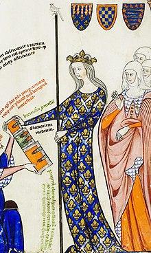 N°85) Jeanne Reine de France et de Navarre, épouse du Roi
