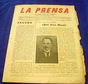 Español: Periódico La Prensa de Jatibonico.