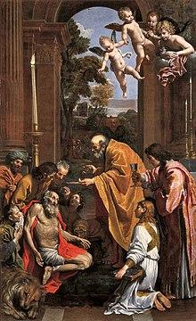 Comunione di san Girolamo Agostino Carracci  Wikipedia