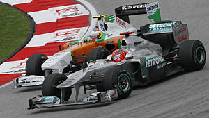 English: Formula One 2011 Rd.2 Malaysian GP: M...