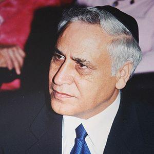 Moshe Katsav. Katsav was not wearing regularly...