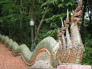 攝於泰國清邁วัดพระธาตุดอยสุเทพ(Wat Phrathat Doi Suth...
