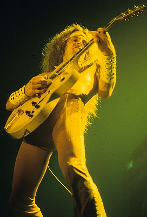 Ted Nugent performing