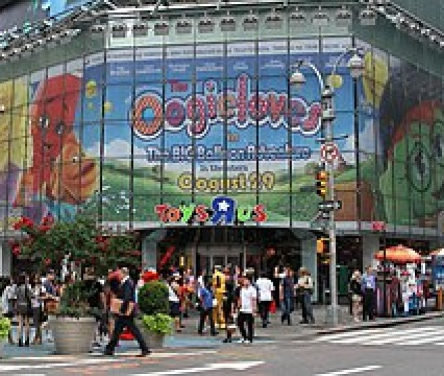 Toys R Us Times Square Store Front 2012