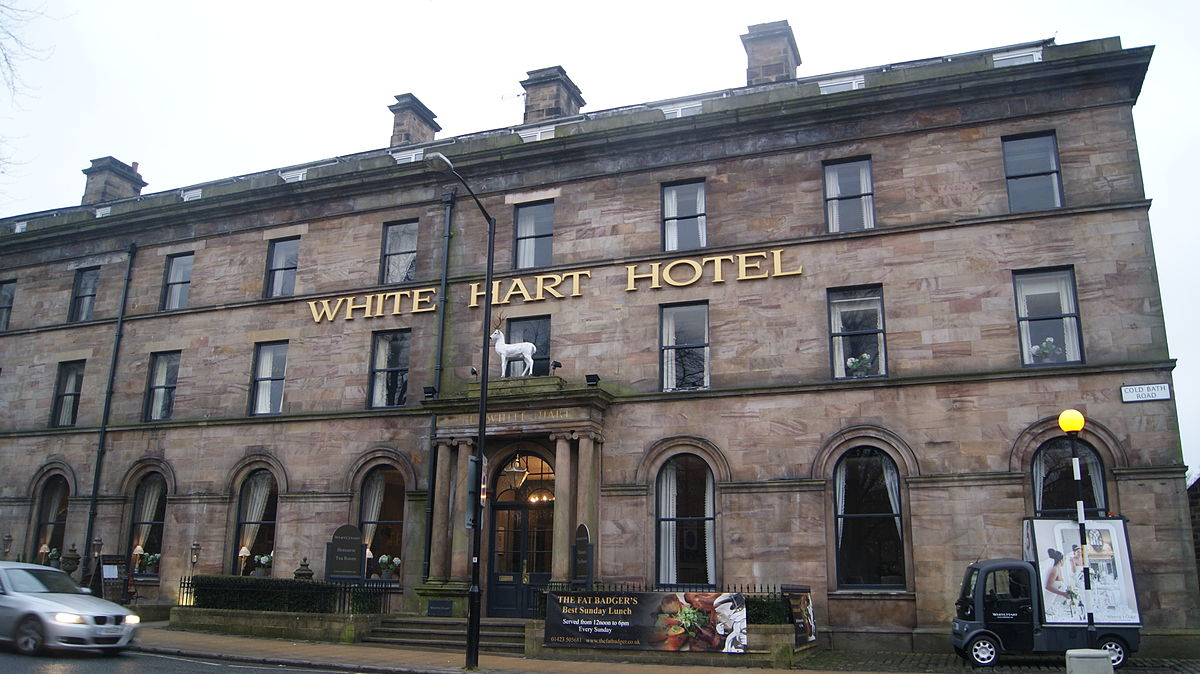 White Hart Inn Dining Room Menu