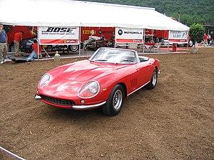 1967 Ferrari 275 GTB/4 NART Spyder