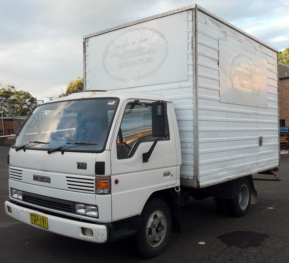 medium resolution of file 1995 mazda t3500 2 door truck 2009 06 07 jpg