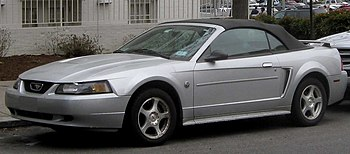 1999-2004 Ford Mustang photographed in Washing...