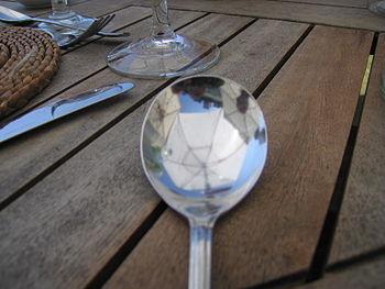 Arty spoon