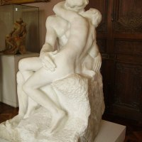 """The Kiss"" by Auguste Rodin"