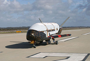 English: X-37B Orbital Test Vehicle was tested...