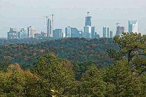 Apartment Tower Construction Frenzy Hits Atlanta Georgia