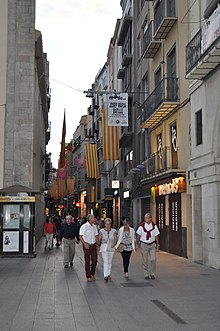 Eix Comercial de Lleida  Viquipdia lenciclopdia lliure