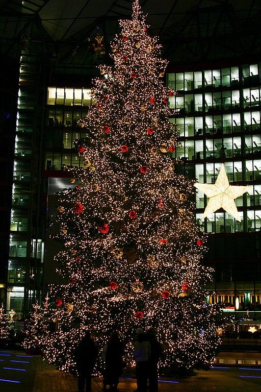 FileChristmas Tree On The Potsdamer Platz Sony Center