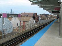 CTA Damen Station Blue Line
