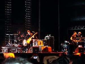 Interpol (band) - live concert - at Super Bock...