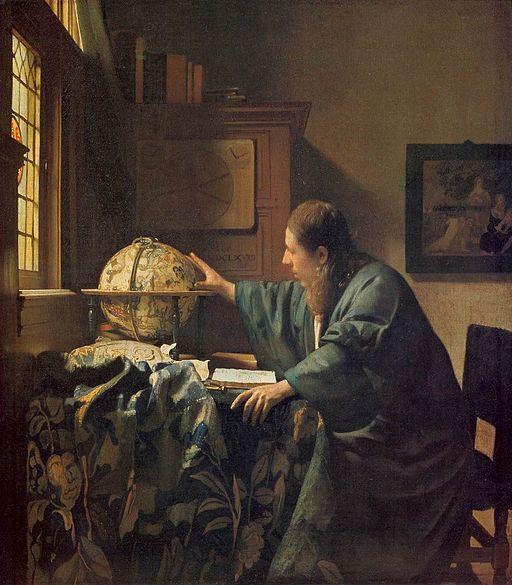 Johannes Vermeer - The Astronomer - WGA24685