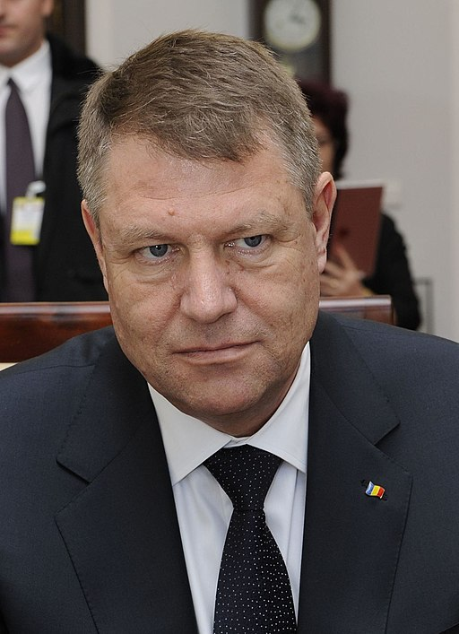 Klaus Iohannis Senate of Poland 2015 02 (cropped 2)
