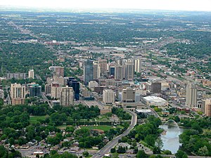 English: London, Ontario, Canada: The Forest C...