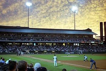 Louisville Slugger Field, where the Louisville...