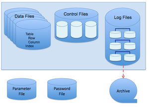 Oracle Database Disk Structures