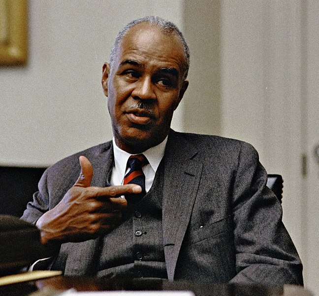 FileRoy Wilkins at the White House 30 April 1968jpg