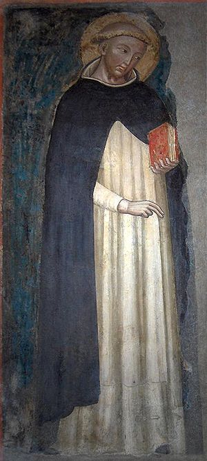 Oldest image of Saint Dominic (unknown artist,...