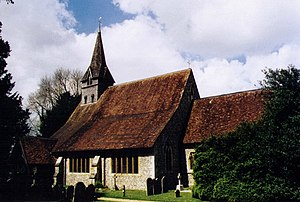 English: St Peter & Holy Cross, Wherwell Grade...