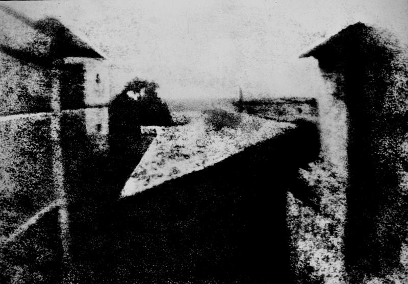 vista desde la ventana de su estudio