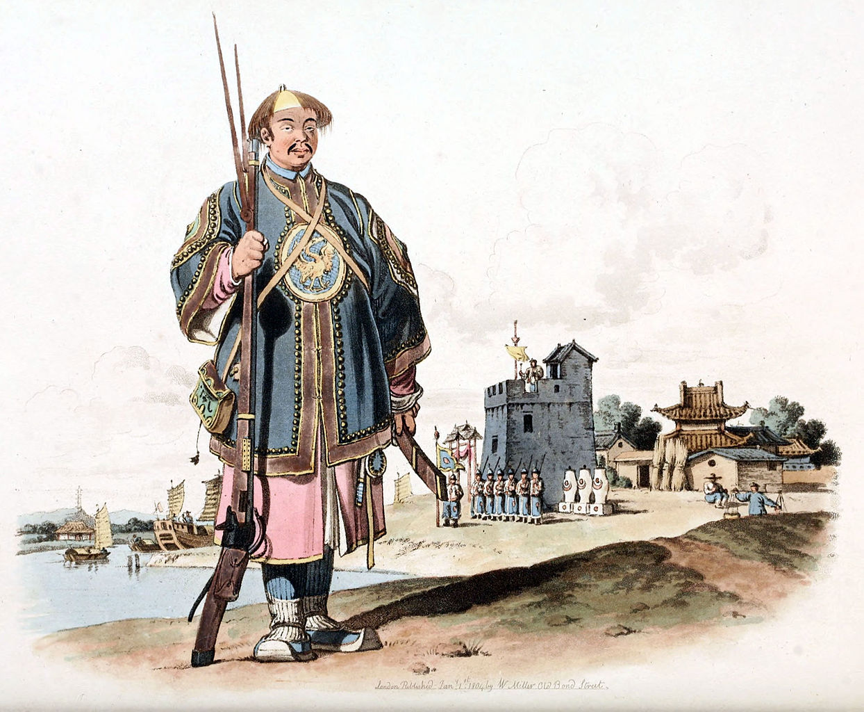 FileA SOLDIER OF CHUSAN Armed with a Matchlock Gunjpg
