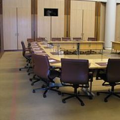 Office Chair Leather Orange Kitchen Cushions Australian Senate Committees - Wikipedia