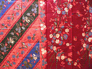 English: Batik Lasem is batik originated from ...