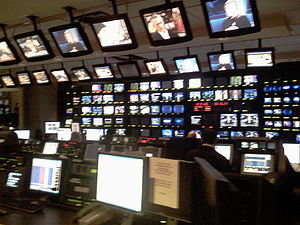 CNBC NJ HQ Control Room