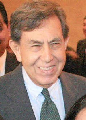 El Ing. Cuauhtémoc Cárdenas Solórzano en el co...