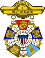 Drawing Of The Us Military Interservice Competition Badge Png