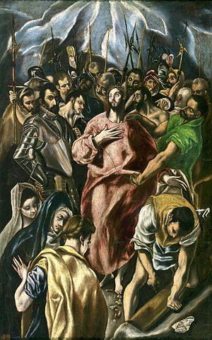 El expolio. Óleo sobre lienzo, 106.8 × 69 cm. ...
