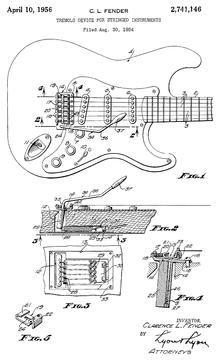 Vibrato (guitare) — Wikipédia