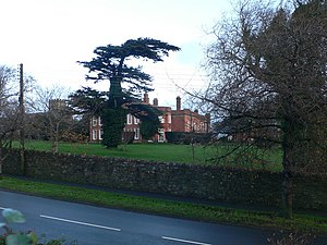 English: Fremington Manor House This manor hou...